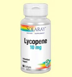 Lycopene - Licopeno 10 mg - Solaray - 60 cápsulas