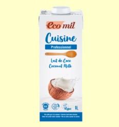 Crema de Coco Bio - EcoMil - 1 litro