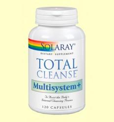 Total Cleanse Multisystem - Solaray - 120 cápsulas