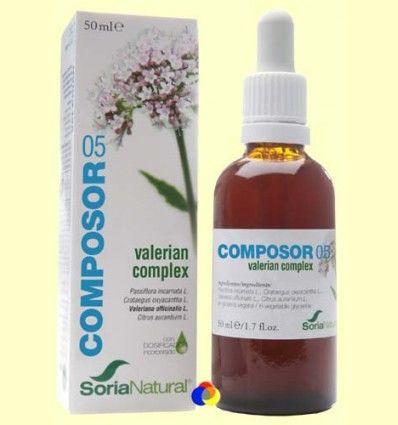 Composor 5 - Valerian Complex - Soria Natural - 50 ml