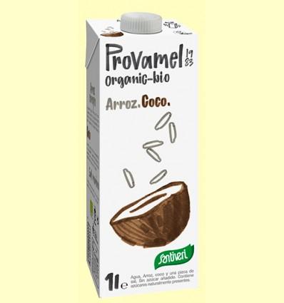 Bebida de Arroz y Coco Bio - Provamel - 1 litro