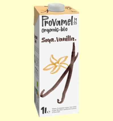 Bebida de Soja Vainilla Bio - Provamel - 1 litro *