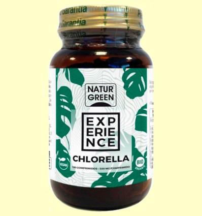 Chlorella Comprimidos Bio - NaturGreen - 180 comprimidos