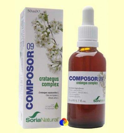 OFERTA-30% - Composor 9 - Crataegus Complex - Soria Natural - 50 ml