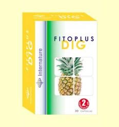 Fitoplus Dig - Internature - 30 cápsulas