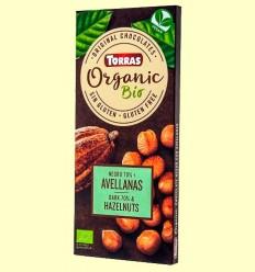 Chocolate Negro 70% Avellanas - Torras - 100 gramos
