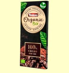Chocolate Negro 100% - Torras - 100 gramos