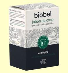 Jabón pastilla coco puro - Biobel - 240 gramos