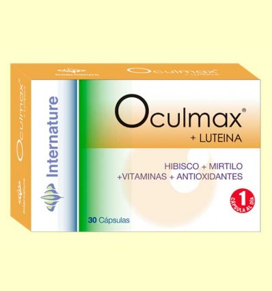 Oculmax - Internature - 30 cápsulas