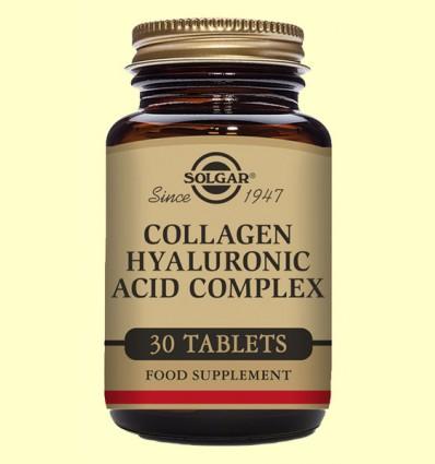 Ácido Hialurónico Complex 120 mg - Solgar - 30 comprimidos
