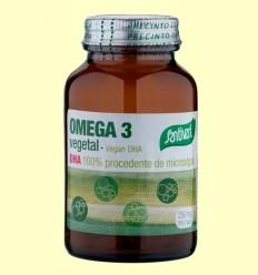 DHA Vegetal - Omega 3 - Santiveri - 30 perlas