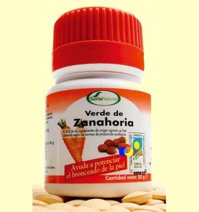 Verde de Zanahoria - Soria Natural - 100 comprimidos