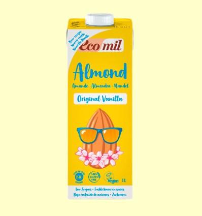 Bebida de Almendras y Vainilla Original Bio con Agave - EcoMil - 1 Litro