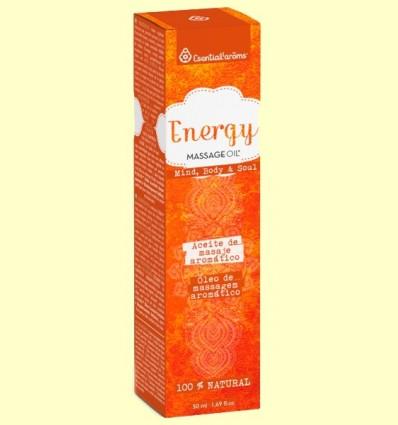 Aceite de masaje aromático Antifatiga - Esential'arôms - 50 ml