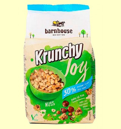 Krunchy Joy Avellanas Bio - Barnhouse - 375 gramos