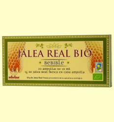 Jalea Real Bebible Bio 1 gramo - Mielar - 20 ampollas