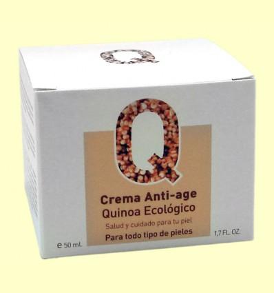 Crema Anti-edad Quinoa Ecológico - Van Horts - 50 ml