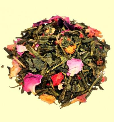 Té Verde Sencha aromatizado con Flores de Granada