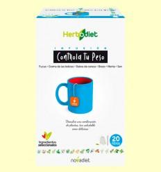 Infusión Herbodiet Controla tu Peso - Novadiet - 20 bolsitas filtro
