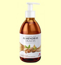 Aceite Vegetal Virgen de Almendras Dulces - Intersa - 500 ml