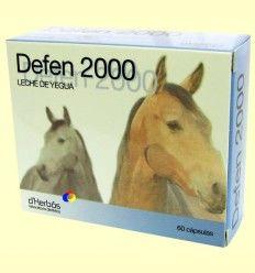 Defen 2000 - Leche de Yegua - d'Herbós - 60 cápsulas