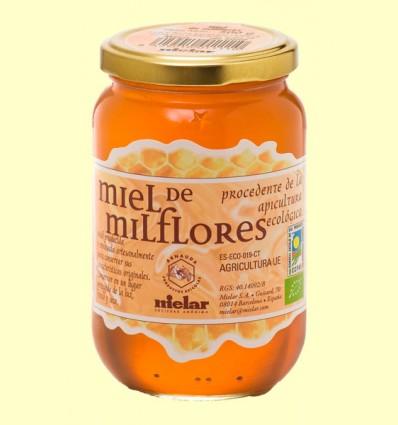 Miel Milflores Bio - Mielar - 500 gramos