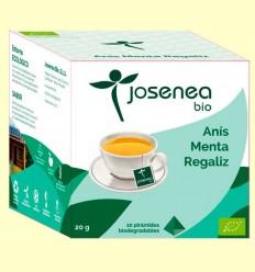 Anís Menta Regaliz Bio - Josenea - 10 pirámides