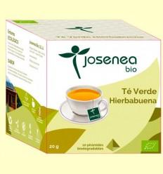 Té Verde Hierbabuena Bio - Josenea - 10 pirámides