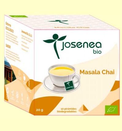 Masala Chai Bio - Josenea - 10 pirámides
