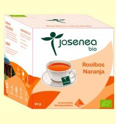 Rooibos Naranja Bio - Josenea - 10 pirámides