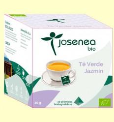 Té Verde Jazmin Bio - Josenea - 10 pirámides