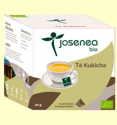 Té Kukicha Bio - Josenea - 10 pirámides
