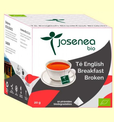 Té English Breakfast Bio - Josenea - 10 pirámides
