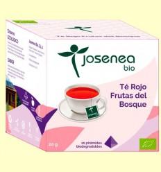 Té Rojo Frutas del Bosque Bio - Josenea - 10 pirámides