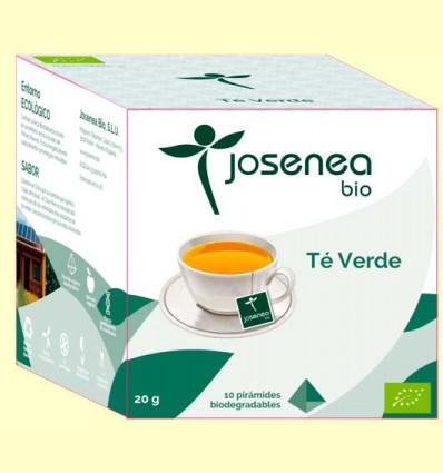 Té Verde Bio - Josenea - 10 pirámides