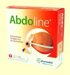 Abdoline - Algas Fucoxantina - Pharmadiet - 60 comprimidos