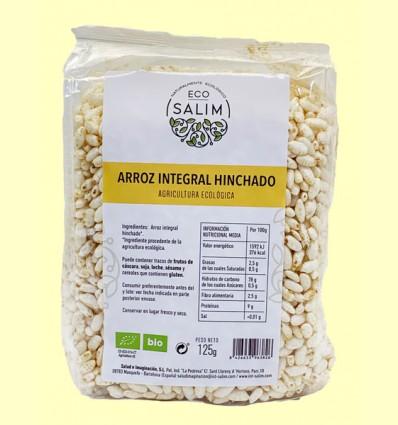 Arroz Integral Inflado Bio - Eco Salim - 125 gramos
