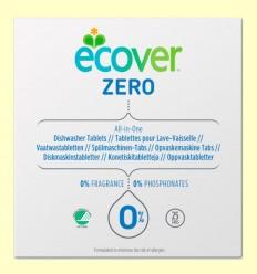 Lavavajillas Máquina Zero Eco - Ecover - 25 tabletas