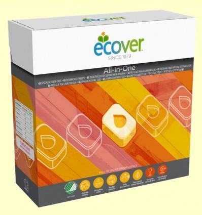 Lavavajillas máquina All-in-one - Ecover - 65 tabletas