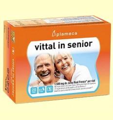 Vittal In Senior - Jalea Real Fresca - Plameca - 20 ampollas