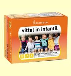 Vittal In Infantil - Jalea Real Fresca - Plameca - 20 viales