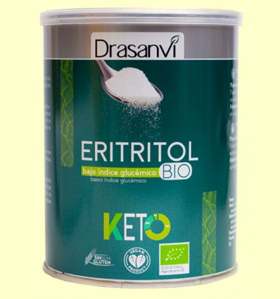 Eritritol Keto - Edulcorante - Drasanvi - 500 gramos