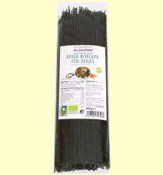 Pasta Integral con Algas - Espagueti - Algamar - 250 gramos