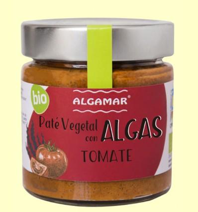 Paté vegetal con Algas - Tomate - Algamar - 180 gramos