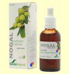 Nogal - Extracto de Glicerina Vegetal - Soria Natural - 50 ml