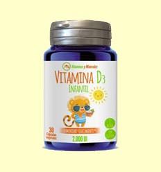Vitamina D3 Infantil - Ynsadiet - 30 comprimidos