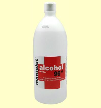 Alcohol Etílico 96º - Montplet - 1 litro