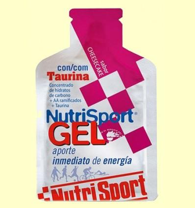 Gel Sport con Taurina Sabor Cheesecake - NutriSport - 40 gramos