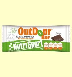 OutDoor Bar - Sabor chocolate - Nutrisport - 20 unidades