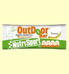 OutDoor Bar - Sabor plátano - Nutrisport - 20 unidades